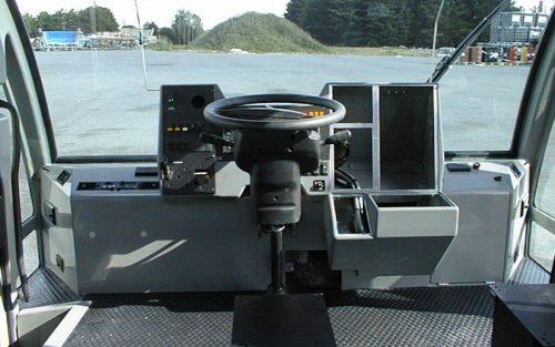 Cabine VMA 105, habillage intérieur polyester granité
