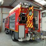 Carrosserie PSE 5G, véhicule de premier secours des Sapeurs Pompiers de PARIS