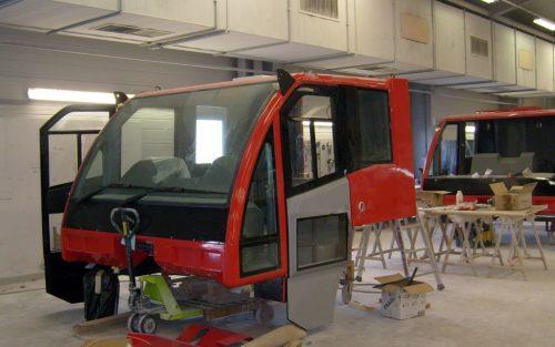 Montage Cabine VMA 105