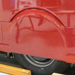 Carénage de roue avec kevlar (résistance à l'éclatement)